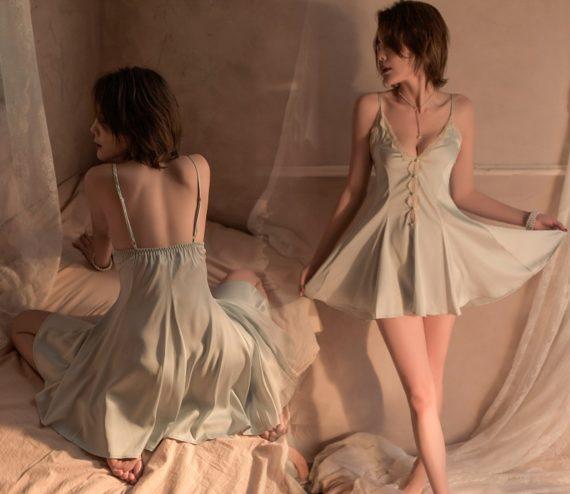 váy ngủ xoè dễ thương
