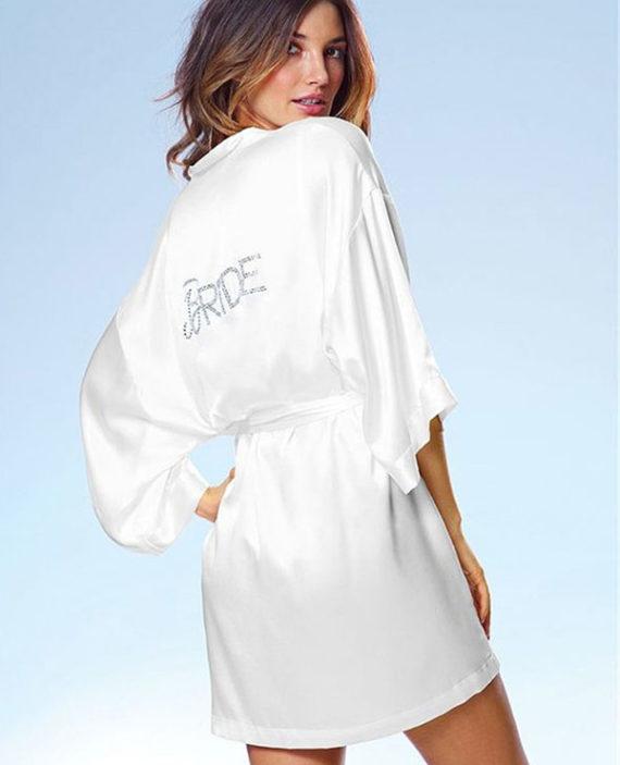 áo choàng ngủ cô dâu
